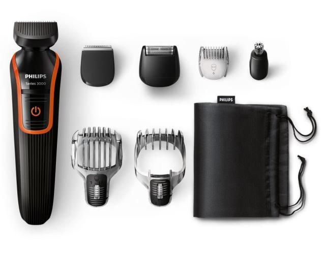 Multigroom - ofrece distintos accesorios para cortar el cabello, la barba, bigotes y patillas